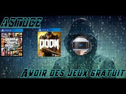 ASTUCE (PS4 4.07) - COMMENT AVOIR LES JEUX DU PLAYSTATION STORE GRATUITEMENT