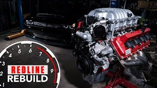 Engine Build Time-lapse 840-hp Dodge Demon Hemi V-8 | Redline Rebuilds - S3e1