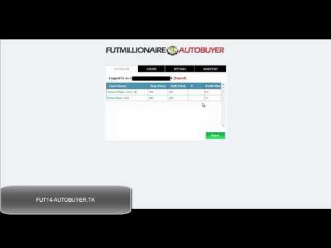 FIFA 14 Ultimate Team Autobuyer FREE - FUT 14 Autobuyer / Autobidder For Free