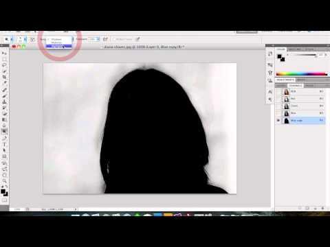 Tutorial Photoshop Cs5 - recortando o cabelo