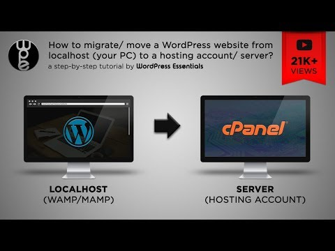 How to move a WordPress website from localhost to server? - 2017