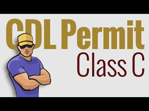 CDL Permit: Class C defined