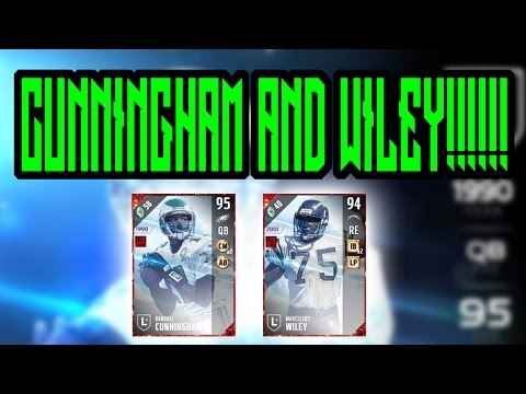 New Randall Cunningham And Marcellus Wiley!!!!!!