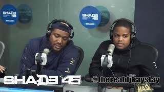 Dj Kayslay interviews The Hoodies at Shade45