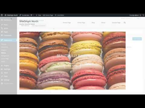 Creating a WordPress Menu