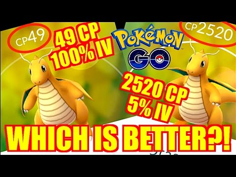 WHICH POKEMON SHOULD YOU KEEP & LEVEL UP IN POKEMON GO IV vs CP vs MOVE SET