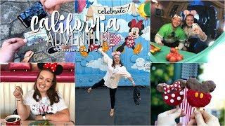 California Adventure Vlogs 2019 | Disneyland Day 1 & 2  🏰 Brogan Tate AD