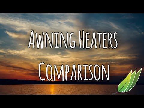 Caravan awning heaters