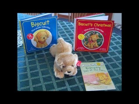Biscuit the Golden Retriever Books and Plush Customer Review