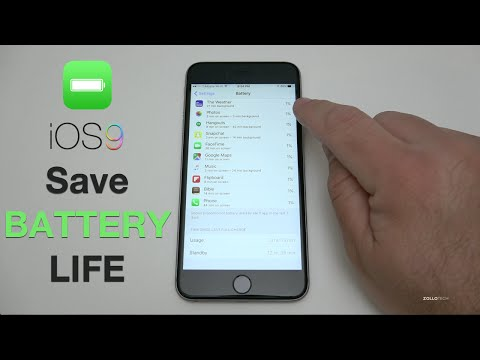 How to Save Battery Life on iOS 9 - iPhone and iPad Tips and Tricks