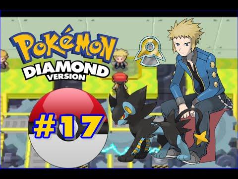 Pokemon Diamond - Part 17 - Sunyshore City Gym Leader Volkner