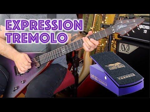 Ernie Ball Expression Tremolo - New Purple Pedal Of Doom