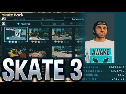 Skate 3 SERVERS Back ONLINE! - Skate 4 Coming Soon!?