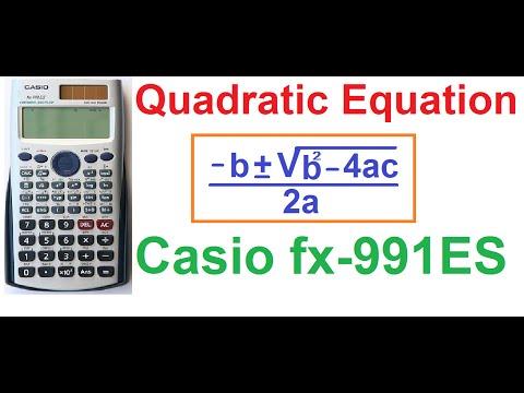 How to Solve Quadratic Equations on Casio fx-991ES Scientific Calculator (4 Tricks!)