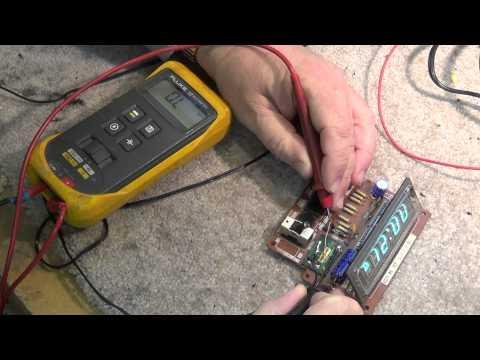 VFD digital clock circuit
