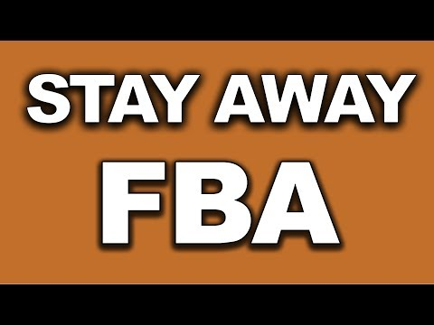 Why You Shouldn't Do FULFILLED BY AMAZON (FBA) as an affiliate marketer