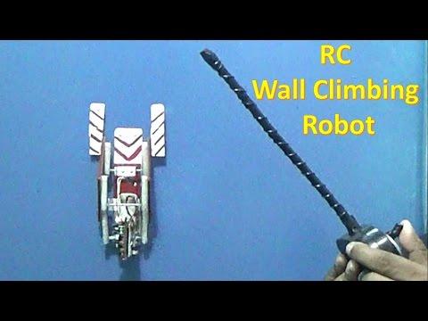 How to make a RC climbing robot