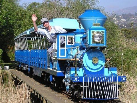 Santa Barbara Zoo Train Vs Cincinnati Zoo Train!