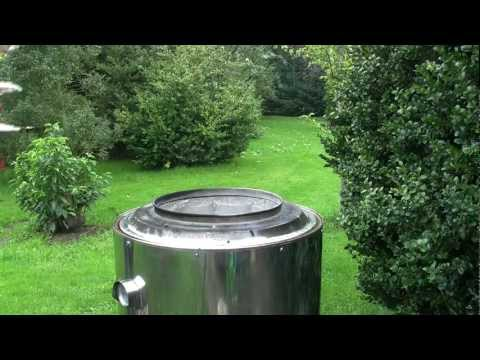 Tandoor oven homemade - Tandoor Pizza baking