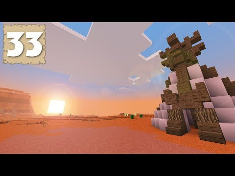 BACK TO THE MESA & TENT CITY! - Survival Let's Play Ep. 33 - Minecraft 1.2.9