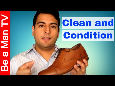 How to Clean Dress Shoes