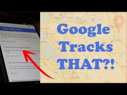 Google is recording your voice|See your history