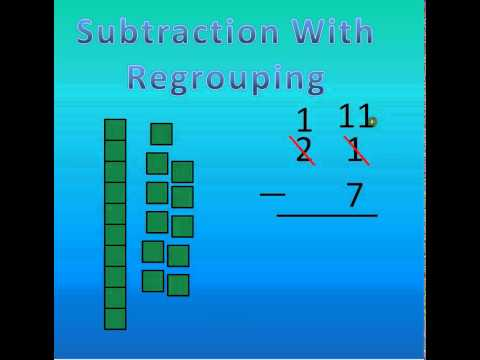 Subtraction With Regrouping Tutorial