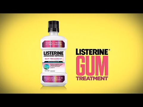 LISTERINE® Advanced Defence Gum Treatment - Clinically proven to treat gum disease.