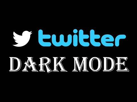 How to Turn on Dark Mode Twitter App - How to turn on Night Mode Twitter Android iPhone