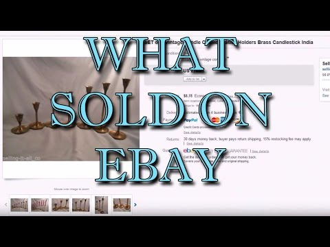 Highlights of What we have sold on ebay during the last month - Dorky Thrifters