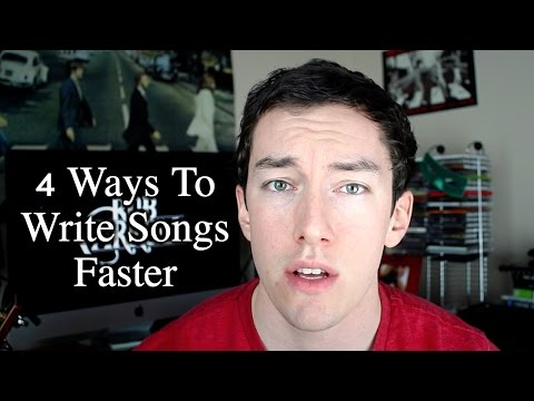 How To Write Songs Faster