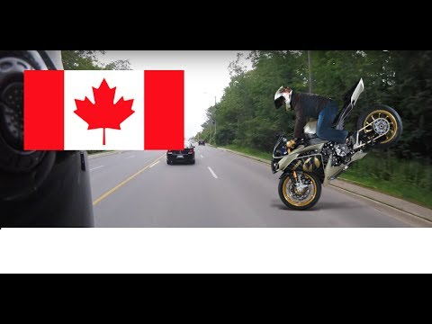 Riding a Motorcycle in Canada