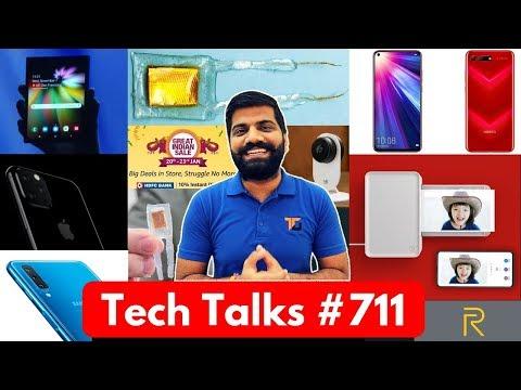 Tech Talks #711 - Realme 3 48MP, Samsung S10 5G Battery, Xiaomi Printer, Play Store Adware