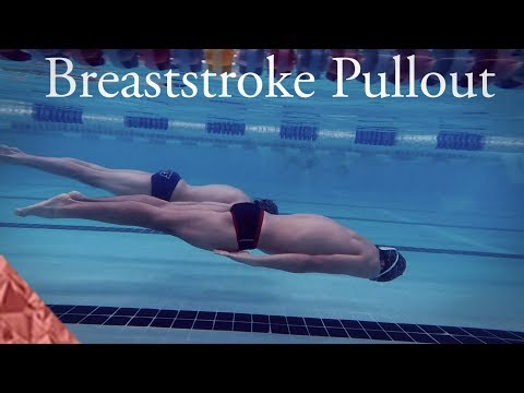 Breaststroke pullout tutorial. Swimming faster breast