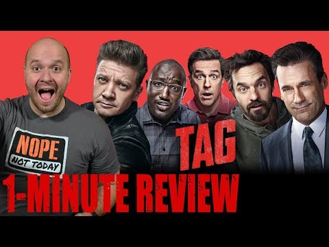 TAG (2018) - One Minute Movie Review