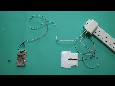 555 Timer Laser Alarm Security Circuit