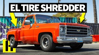 Chevy C10 Smoke Machine That Drove up From Mexico!
