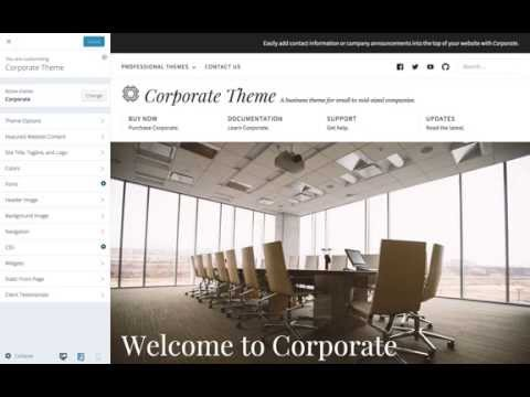 Corporate WordPress Theme: A Demonstration of Corporate's Responsiveness