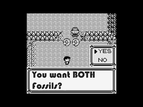 How To Get Both Helix Fossil And Dome Fossil - Pokemon Red