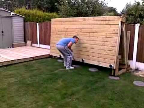 Folding Decking - the world's first?