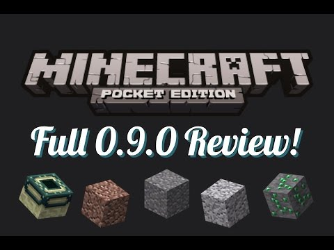 Minecraft Pocket Edition - Full 0.9.0 Review