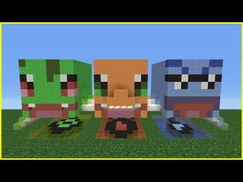 Minecraft Tutorial: How To Make A Pokemon Starter Head House
