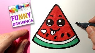 Cute Pictures To Draw Watermelon