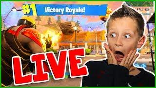 Pro Kid Fortnite Live Stream