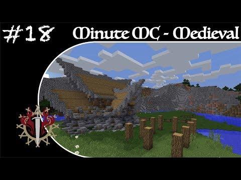 Minute Minecraft - Time Lapse - Medieval Village - Ep.18