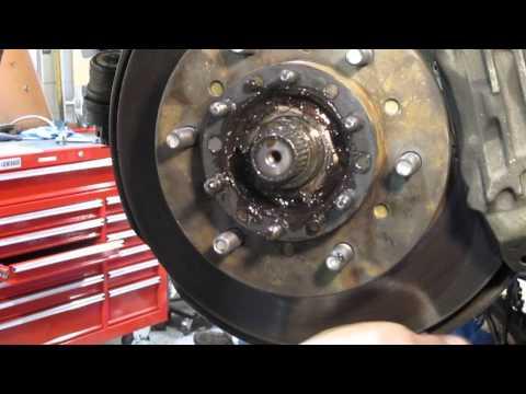 4x4 Wheel Bearing Adjustment