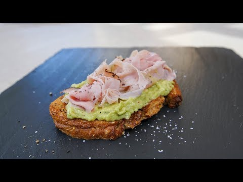 Black Forest Ham Avo Toast | SAM THE COOKING GUY