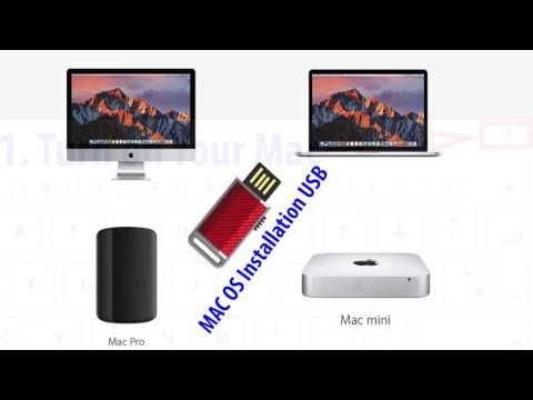 Reinstall MAC OS Sierra using USB Drive