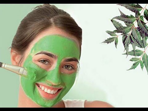 HOW TO GET RID OF ACNE NATURALLY   DIY NEEM FACE PACK