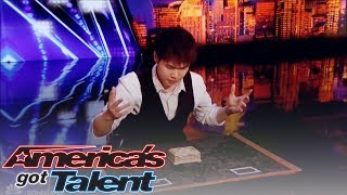 America's Got Talent S14E1: Eric Chien's Card Tricks Will Blow Your Mind With His Incredible Magic